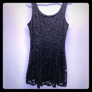 Finesse Black Lace Dress